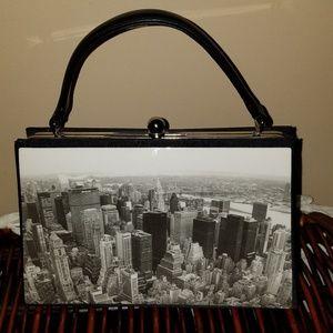 Handbags - Retro Vintage-Esque Top Handle Handbag